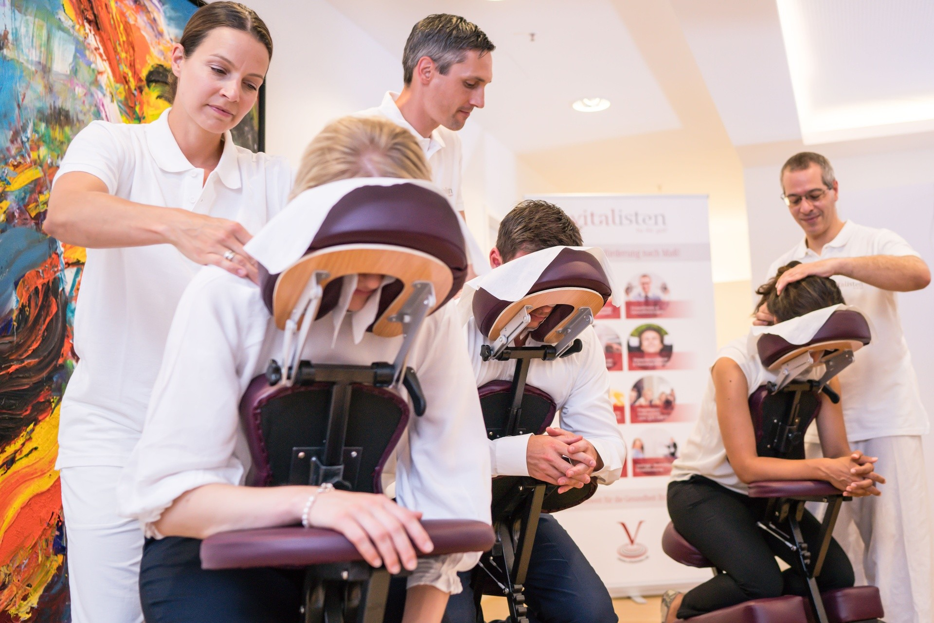 Vitalisten Event-Massage